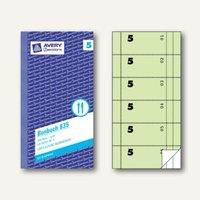 Artikelbild: Formular Bonbuch mit Kellner-Nr. 5