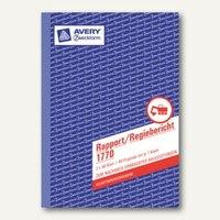 Artikelbild: Formular Rapport/Regiebericht DIN A5