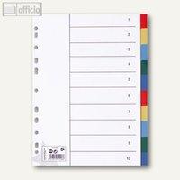 Artikelbild: Kunststoff-Register blanko