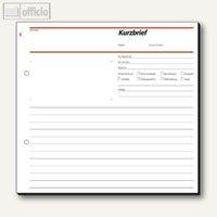 Artikelbild: Formular Kurzbrief 2/3 DIN A4