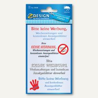 Artikelbild: Hinweis-Etiketten Bitte keine Werbung...