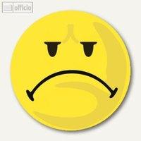 Artikelbild: Moderationskarten Gesicht - negativ
