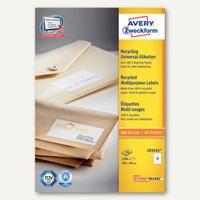 Artikelbild: Avery Zweckform Recycling Universal-Etiketten