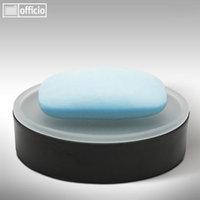 Artikelbild: MILA - Seifenschale aus satiniertem Glas