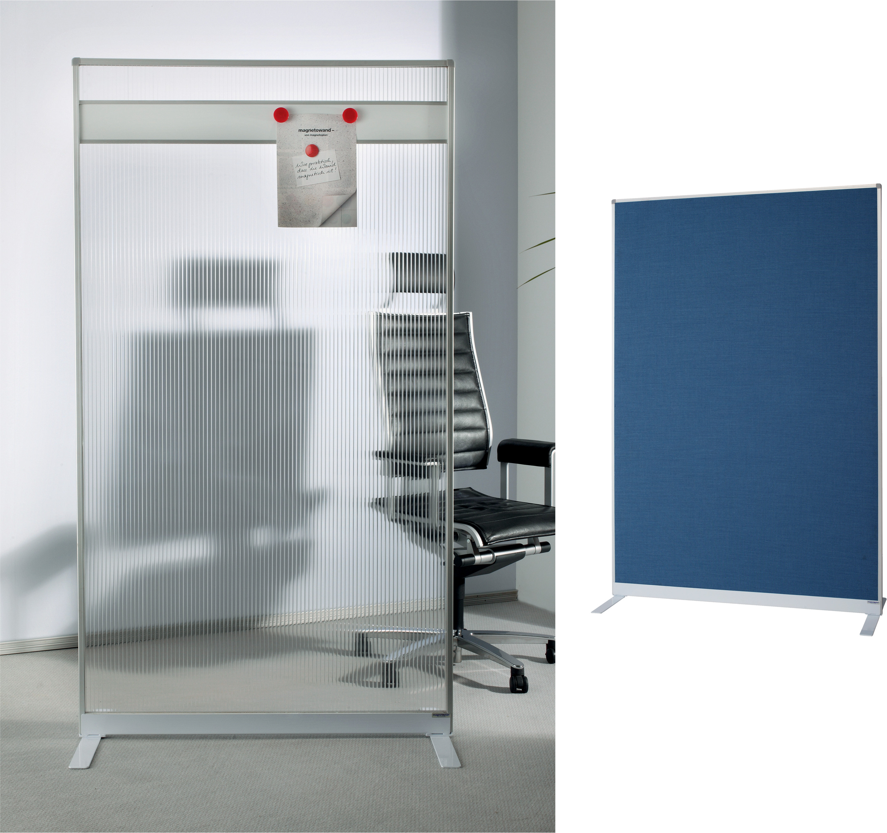 officio raumteiler trennw nde filz acryl alu rahmen. Black Bedroom Furniture Sets. Home Design Ideas