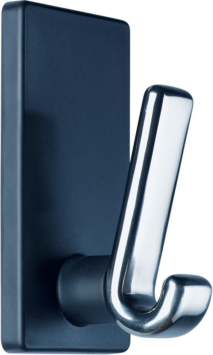 magnetischer kleiderhaken haftkraft 15kg haken alu gl nzend 2857 b roartikel bei. Black Bedroom Furniture Sets. Home Design Ideas