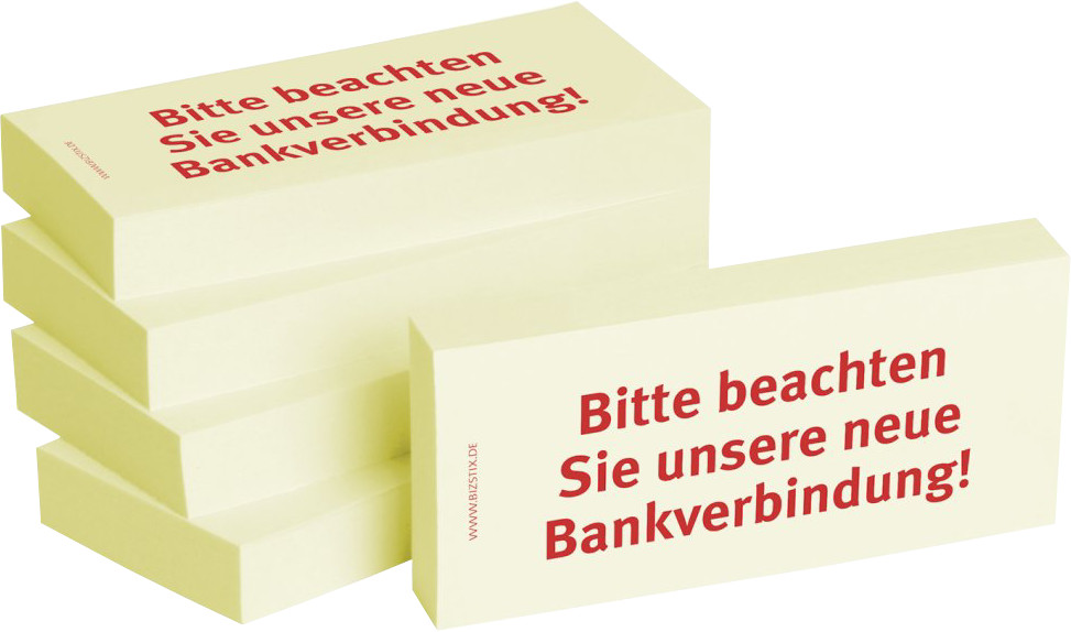Unsere Bankverbindung