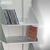 CD-Regal mit 8 Fächern aus eloxiertem Aluminium:Produktabbildung 2