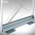 Schirmwanne OPLA - aus Aluminium:Produktabbildung 1