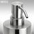 PRIMO - Seifenspender aus Edelstahl:Produktabbildung 2