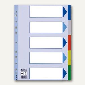 Kunststoff-Blanko-Register DIN A4