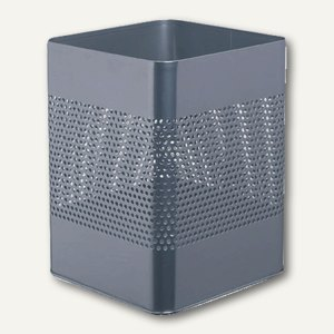 Stahl-Papierkorb METALL