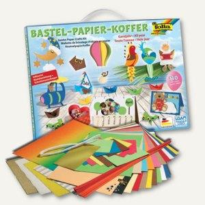 Bastelpapier-Koffer Ganzjahr