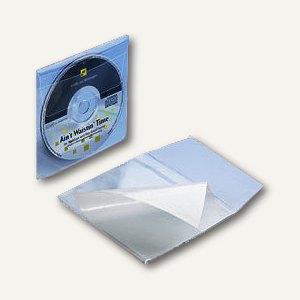 CD Kunststofftasche PP selbstklebend mit Klappe