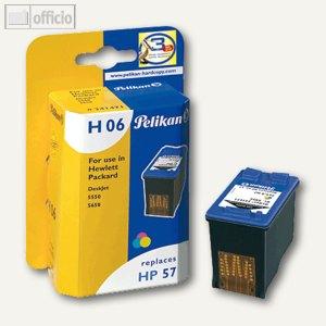 Tintenpatrone H06 für HP C6657AE tricolor