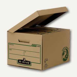 Bankers Box EARTH Klappdeckelbox KUBUS