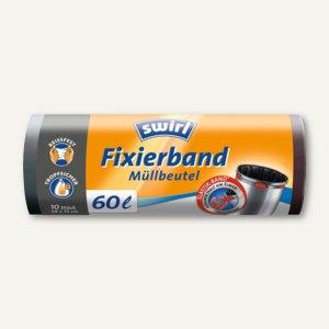 Müllbeutel mit Fixierband
