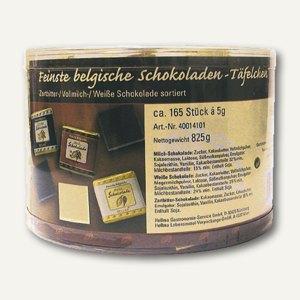 Belgische Schokoladentäfelchen