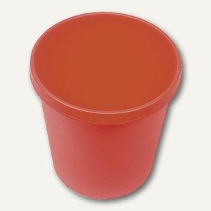 Helit Objekt-Papierkorb, 18 Liter, (Ř)31.5 x (H)33.1 cm, PE, rot, H6105825