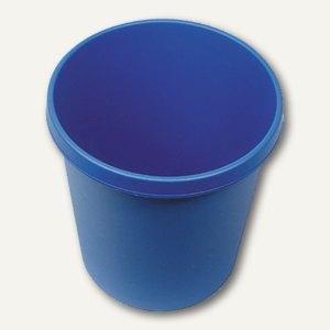 Helit Objekt-Papierkorb, 18 Liter, (Ř)31.5 x (H)33.1 cm, PE, blau, H6105834