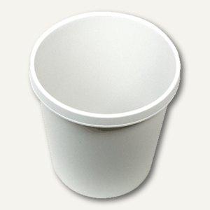 Helit Objekt-Papierkorb, 18 Liter, (Ř)31.5 x (H)33.1 cm, PE, lichtgrau, H6105882
