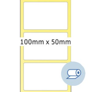 Rollenetiketten - 100 x 50 mm