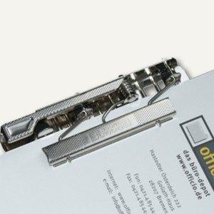 Klemmmechanik für ungelochte Papiere