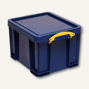 Aufbewahrungsbox 35 Liter, 480 x 390 x 310 mm, blau, 4801309SB