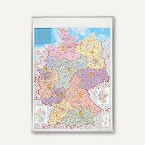 Franken Deutschlandkarte Postleitzahlen 140 X 100 Cm Ka440m