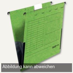 officio Hängetaschen DIN A4, seitlich Leinenfrösche, grün, 5 Stück
