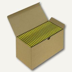 Versandkarton Blitzbox CD25 für 25 CDs in Jewelbox