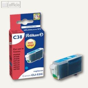 Tintenpatrone B38 für Canon CLI521C