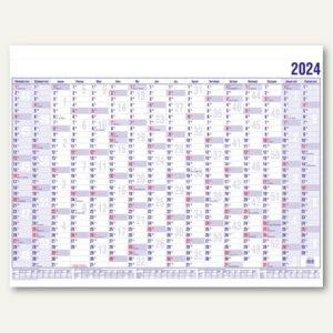 Güss Wandplaner DIN A1 quer, 99 x 60 cm, 16 Monate inkl. Schulferien, 17000