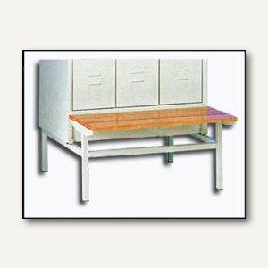 Sitzbank für 3-türigen Stahl-Reihenspind