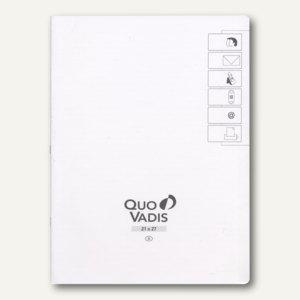 "Quo Vadis ""Pre 777"" Adress-/Telefonverzeichnis - 21 x 27 cm, Weißschnitt,715020Q"