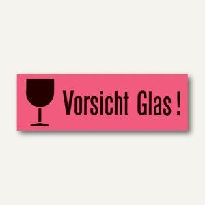 Versandzettel Vorsicht Glas