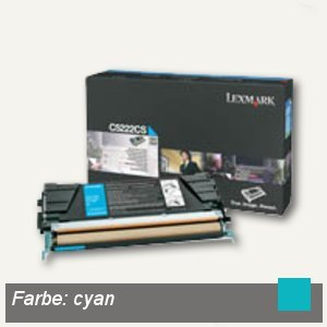 C52X Toner cyan - ca. 3.000 Seiten