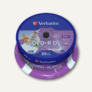 DVD+R Rohlinge Double Layer