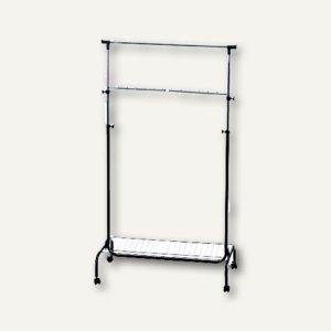 Officio Mobile Fahrbare Garderobe Stufenlos Hohenverstell