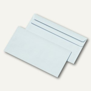 ohne Fenster selbstklebend Briefe Umschläge Briefumschläge DIN Lang weiß mit u