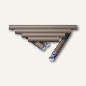 Versandrolle, 1000 x 100 mm, braun, 4 St