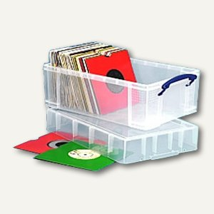 Aufbewahrungsbox für Vinyl-Singles