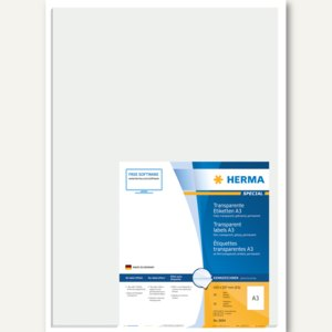 Transparente Folien-Etiketten