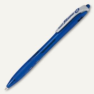 """Pilot Kugelschreiber """"Begreen Rex Grip"""", 0.4 mm, gummiert, blau, 2047703"""