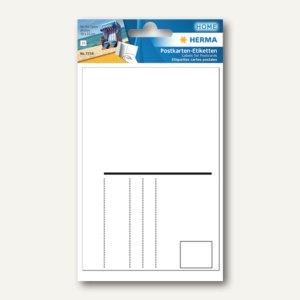 Postkartenetiketten 95 x 145 mm