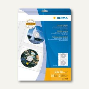 CD-Hüllen aus transparenter Folie
