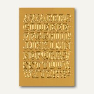 Herma Buchstaben, 12 mm, A-Z, Folie gold, 10 x 1 Blatt, 4183
