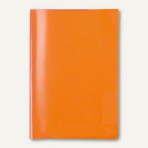 Heftschoner PP DIN A4 transparent/orange