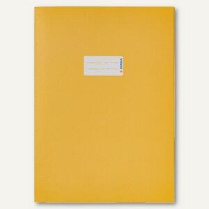 Herma Heftschoner Papier DIN A4 gelb 100% Altpapier, 50 Stück, 5521