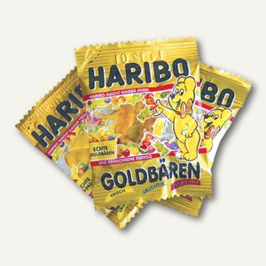 Goldbären im 10g-Minibeutel